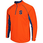 Colosseum Men's Syracuse Orange Orange Airstream Quarter-Zip