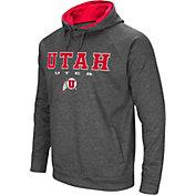 Colosseum Men's Utah Utes Grey Fleece Hoodie
