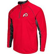 Colosseum Men's Utah Utes Crimson Airstream Quarter-Zip