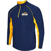Colosseum Men's Toledo Rockets Midnight Blue Airstream Quarter-Zip