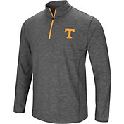 Colosseum Men's Tennessee Volunteers Gray Action Pass Quarter-Zip Shirt