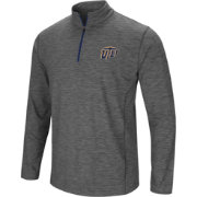 Colosseum Men's UTEP Miners Grey Action Pass Quarter-Zip Shirt