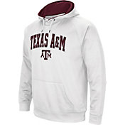 Colosseum Men's Texas A&M Aggies White Performance Hoodie