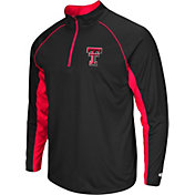 Colosseum Men's Texas Tech Red Raiders Black Airstream Quarter-Zip