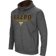 Colosseum Men's Valparaiso Crusaders Grey Fleece Hoodie