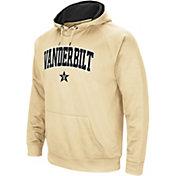 Colosseum Men's Vanderbilt Commodores Gold Performance Hoodie