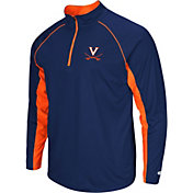 Colosseum Men's Virginia Cavaliers Blue Airstream Quarter-Zip