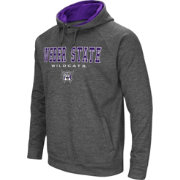 Colosseum Men's Weber State Wildcats Grey Fleece Hoodie