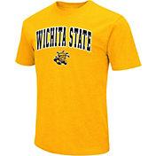 Colosseum Men's Wichita State Shockers Yellow Dual Blend T-Shirt
