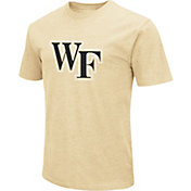 Colosseum Men's Wake Forest Demon Deacons Gold Dual Blend T-Shirt