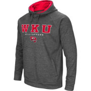 Colosseum Men's Western Kentucky Hilltoppers Grey Fleece Hoodie