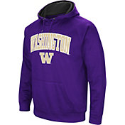 Colosseum Men's Washington Huskies Purple Fleece Hoodie