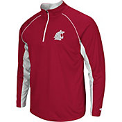 Colosseum Men's Washington State Cougars Crimson Airstream Quarter-Zip