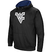 Colosseum Men's West Virginia Mountaineers Black Performance Hoodie