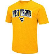 Colosseum Men's West Virginia Mountaineers Gold Dual Blend T-Shirt