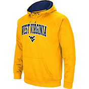 Colosseum Men's West Virginia Mountaineers Gold Performance Hoodie