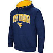 Colosseum Men's West Virginia Mountaineers Blue Fleece Hoodie