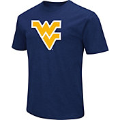 Colosseum Men's West Virginia Mountaineers Blue Dual Blend T-Shirt