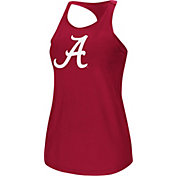 Colosseum Women's Alabama Crimson Tide Crimson Mesh Tank