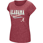Colosseum Women's Alabama Crimson Tide Crimson Speckled Yarn T-Shirt