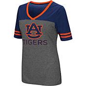 Colosseum Women's Auburn Tigers Grey McTwist Jersey T-Shirt