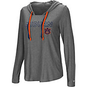 Colosseum Women's Auburn Tigers Grey Podium Featherweight Hoodie