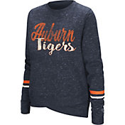 Colosseum Women's Auburn Tigers Blue Birdie Fleece Pullover