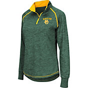 Colosseum Women's Baylor Bears Green Bikram Quarter-Zip Top