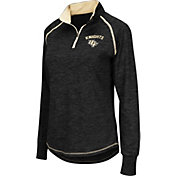 Colosseum Women's UCF Knights Black Bikram Quarter-Zip Top