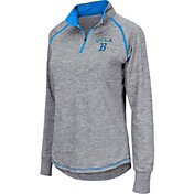 Colosseum Women's UCLA Bruins Grey Bikram Quarter-Zip Top