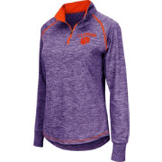 Colosseum Women's Clemson Tigers Regalia Bikram Quarter-Zip Top