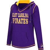 Colosseum Women's East Carolina Pirates Purple Spike Fleece Hoodie