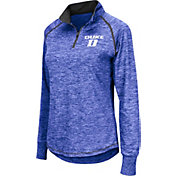 Colosseum Women's Duke Blue Devils Duke Blue Bikram Quarter-Zip Top