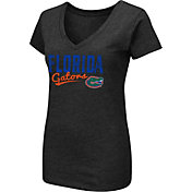 Colosseum Women's Florida Gators Black Dual-Blend T-Shirt