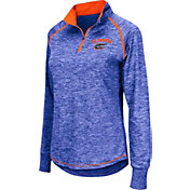 Colosseum Women's Florida Gators Blue Bikram Quarter-Zip Top