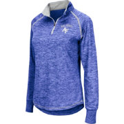 Colosseum Women's Air Force Falcons Blue Bikram Quarter-Zip Top
