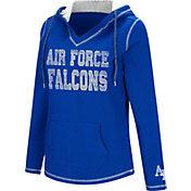 Colosseum Women's Air Force Falcons Blue Spike Fleece Hoodie