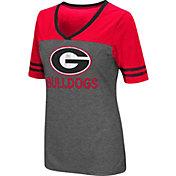 Colosseum Women's Georgia Bulldogs McTwist Jersey T-Shirt