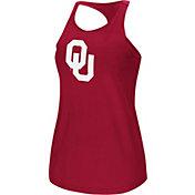 Colosseum Women's Oklahoma Sooners Crimson Mesh Tank