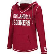 Colosseum Women's Oklahoma Sooners Crimson Spike Fleece Hoodie