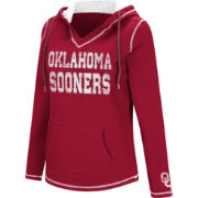 Colosseum Women's Oklahoma Sooners Crimson Spike Fleece Hoodie