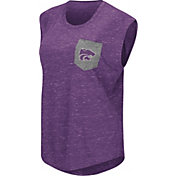 Colosseum Women's Kansas State Wildcats Purple Pocket Tank Top