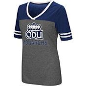 Colosseum Women's Old Dominion Monarchs Grey McTwist Jersey T-Shirt