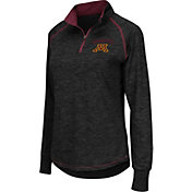 Colosseum Women's Minnesota Golden Gophers Black Bikram Quarter-Zip Top