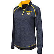Colosseum Women's Marquette Golden Eagles Blue Bikram Quarter-Zip Top