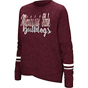 Colosseum Women's Mississippi State Bulldogs Maroon Birdie Fleece Pullover