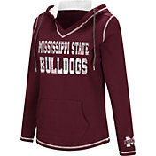Colosseum Women's Mississippi State Bulldogs Maroon Spike Fleece Hoodie