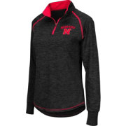 Colosseum Women's Nebraska Cornhuskers Black Bikram Quarter-Zip Top