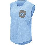 Colosseum Athletics Women's North Carolina Tar Heels Carolina Blue Pocket Tank Top