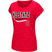 Colosseum Women's NC State Wolfpack Red Speckled Yarn T-Shirt